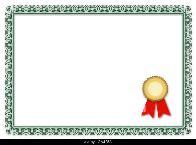 Vector Official Certificate Template Photos Vector – Official Certificate Template