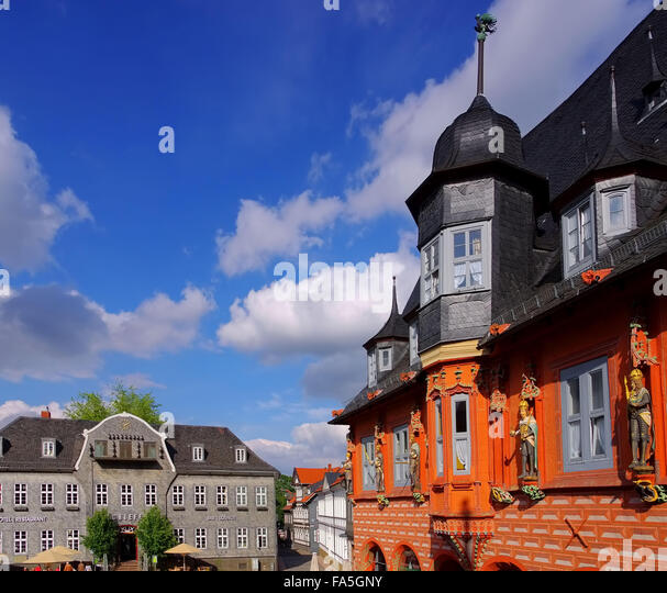 goslar marktplatz stock photos goslar marktplatz stock images alamy. Black Bedroom Furniture Sets. Home Design Ideas