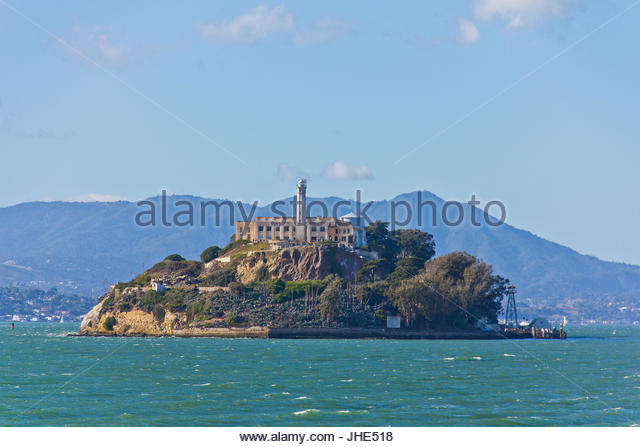 Alcatraz - Stock Image