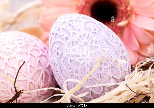 Handbemalte stock photos handbemalte stock images alamy - Dekoration ostern ...