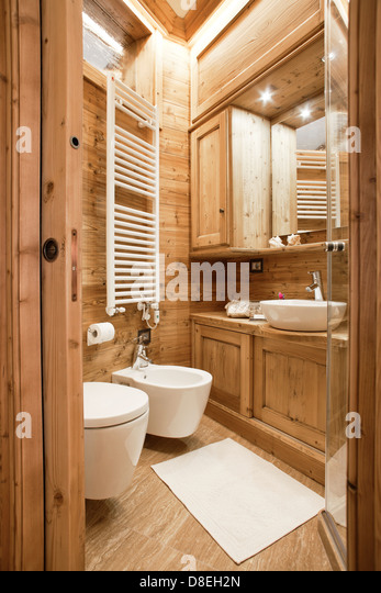 Wc small stock photos wc small stock images alamy for Small bathroom natural
