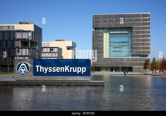 thyssen krupp ag stock photos thyssen krupp ag stock. Black Bedroom Furniture Sets. Home Design Ideas