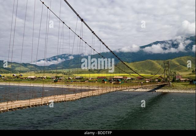 Altai landscape river katun stock photos altai landscape for Rocky waters motor inn fire damage