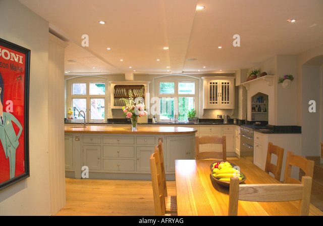 Interiors kitchen monochromatic lighting stock photos for Dining room 95 hai ba trung