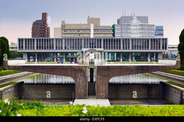 Hiroshima Peace Memorial Museum Stock Photos & Hiroshima Peace Memorial M...