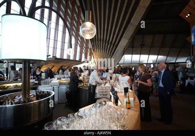 Foyer Area Bar : Sydney opera house interior stock photos