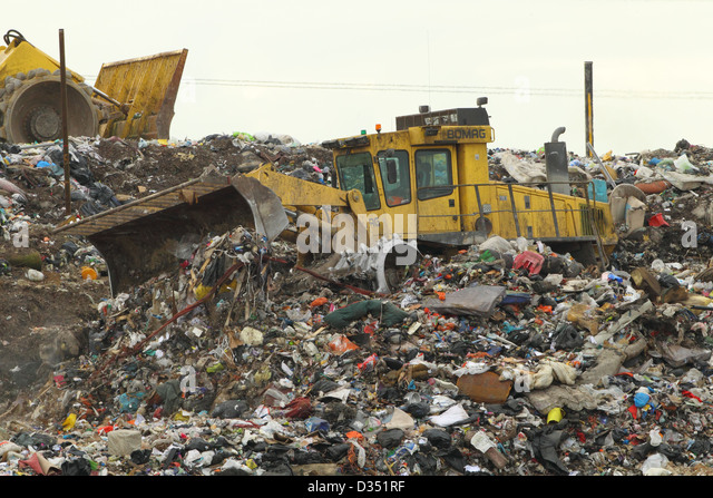 Landfills With Tractors : Landfill uk stock photos images alamy