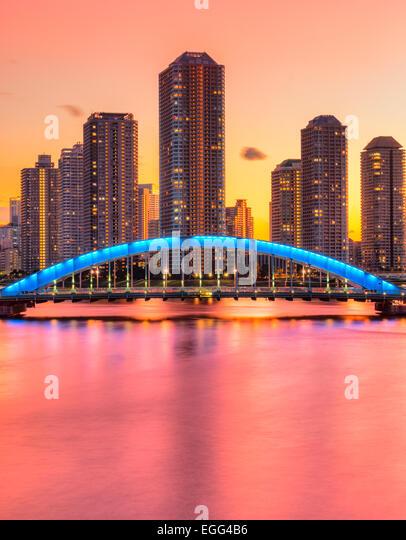 japan tokyo skyscrapers bridge - photo #20