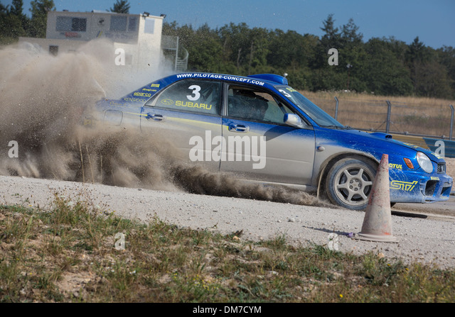 rally track stock photos rally track stock images alamy. Black Bedroom Furniture Sets. Home Design Ideas