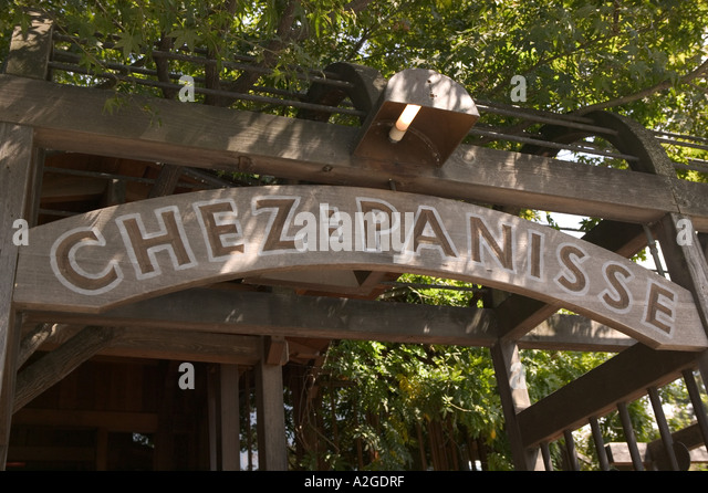 Restaurant Chez Panisse In Berkeley California