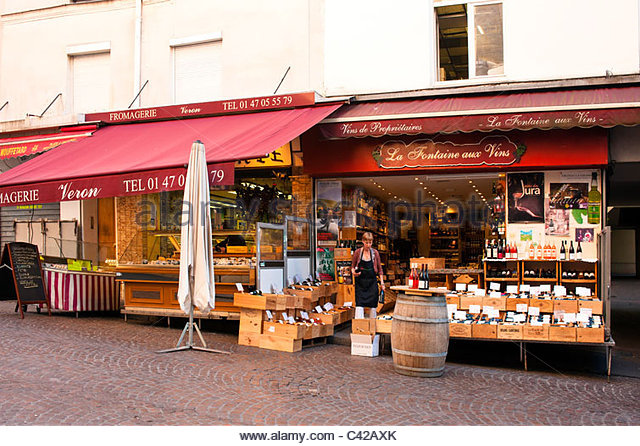 Rue Mouffetard Stock Photos & Rue Mouffetard Stock Images - Alamy