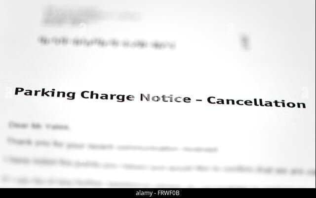 Parking Fine Letter Photos Parking Fine Letter – Notice of Cancellation Letter