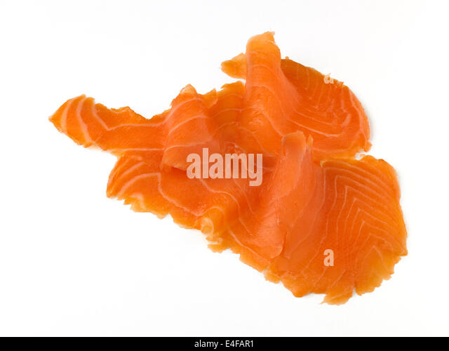 how to cut smoked salmon
