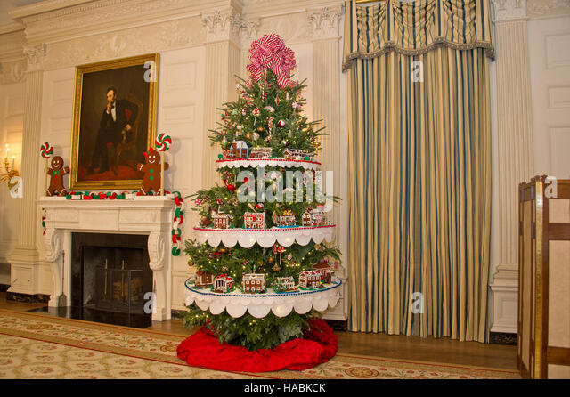 29th november 2016 the 2016 white house christmas decorations