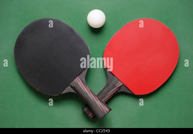 table tennis bats. table tennis bats - stock image
