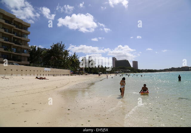 Guam people stock photos guam people stock images alamy for Best beach vacations in march