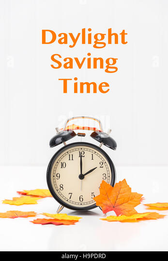 Daylight savings stock photos daylight savings stock for When was daylight savings time started