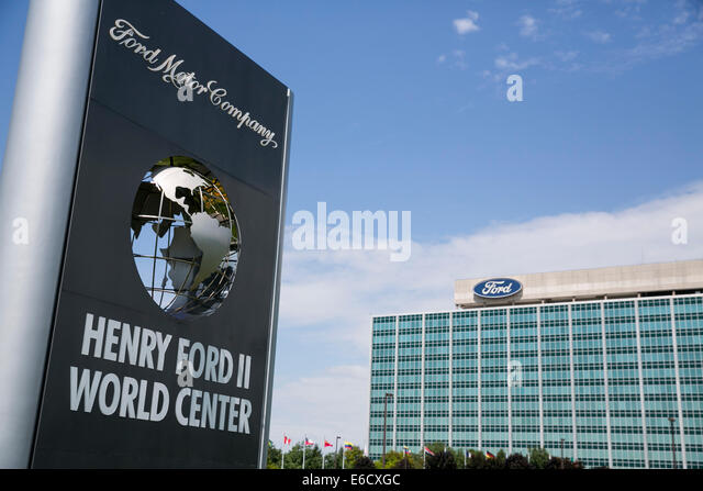 The henry ford dearborn michigan stock photos the henry for Ford motor company stock