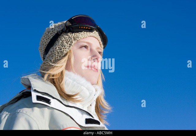 Girl Wearing Ski Goggles Stock Photos & Girl Wearing Ski ...