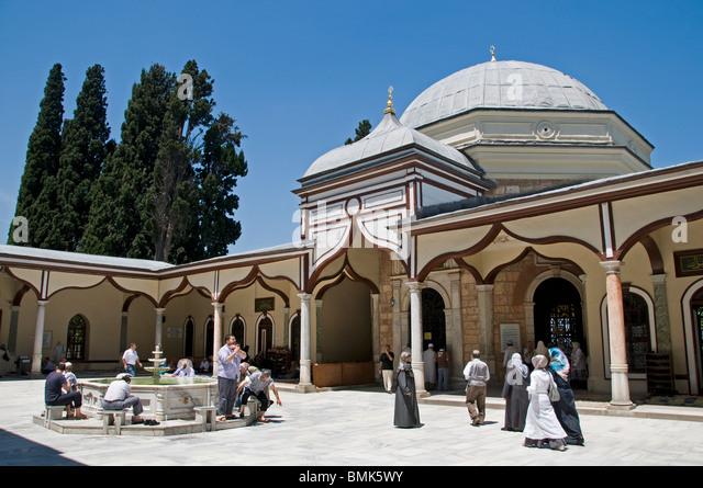 Emir Sultan Mosque Stock Photos & Emir Sultan Mosque Stock ...