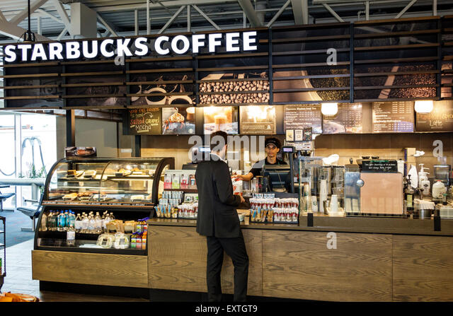 Interior Starbucks Coffee Shop Stock Photos & Interior Starbucks Coffee Shop Stock Images - Alamy