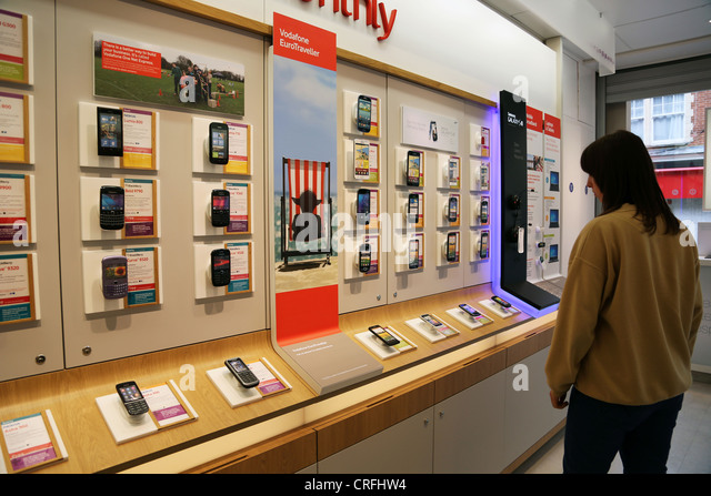 Exhibition Stands Stoke On Trent : Vodaphone stock photos images alamy