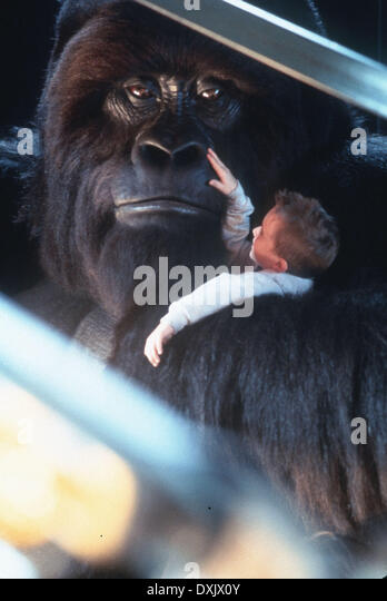 Mighty Joe Young 1998 Charlize Theron Stock Photos ...
