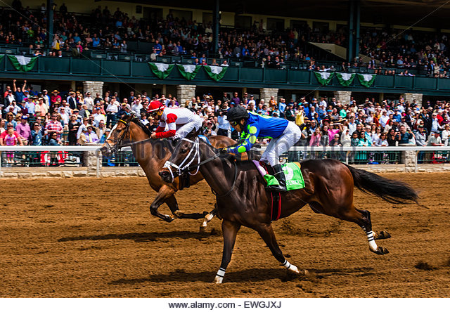 keeneland horse race stock photos keeneland horse race stock images alamy. Black Bedroom Furniture Sets. Home Design Ideas
