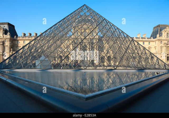Pyramide du louvre stock photos pyramide du louvre stock images alamy - Pyramide du louvre pei ...