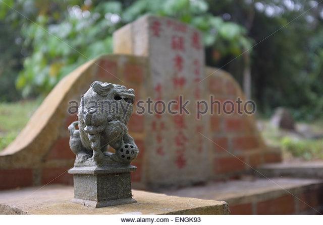 Singapore and cemetery stock photos