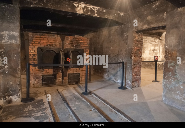 Gas chamber auschwitz stock photos gas chamber auschwitz for Auschwitz chambre a gaz