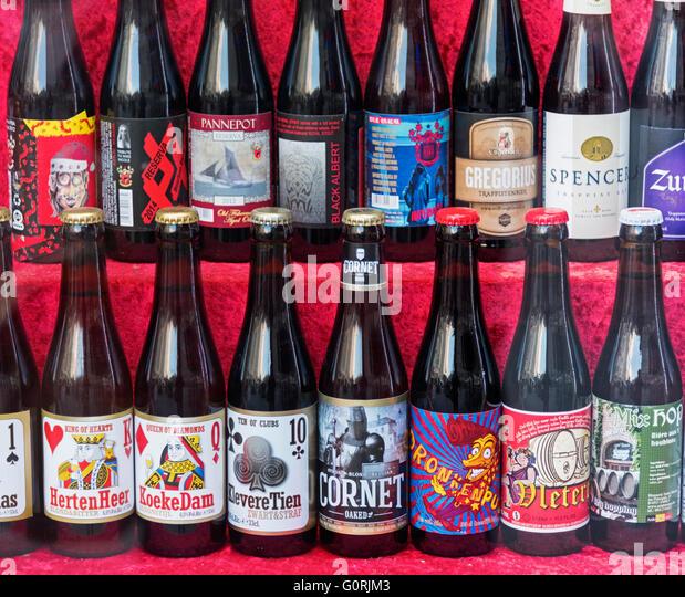 belgium beer bottle stock  belgium beer bottle stock images alamy