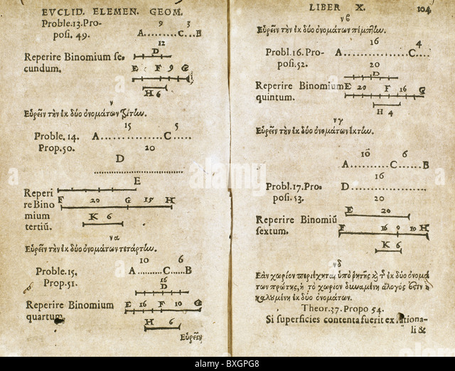 euclid the first true mathematician Thales is hailed as a great mathematician and astronomer euclid wrote the elements which is essentially our textbook geometry of today this is considered the first time demonstrative geometry came to be (thales had completed some elementary proofs.