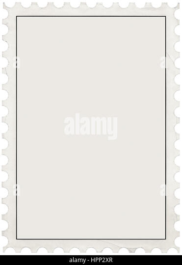 Postage Stamp Perforated Border Stock Photos & Postage Stamp