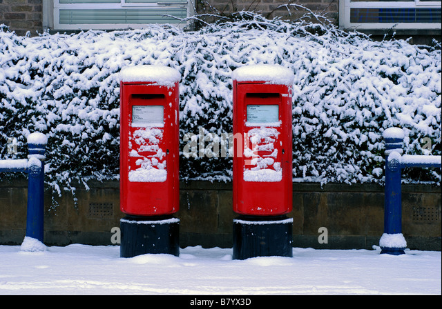 Mailbox Types Of Shelters : Postboxes stock photos images alamy
