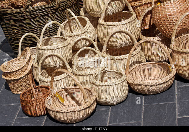Skep stock photos skep stock images alamy - Wicker beehive basket ...