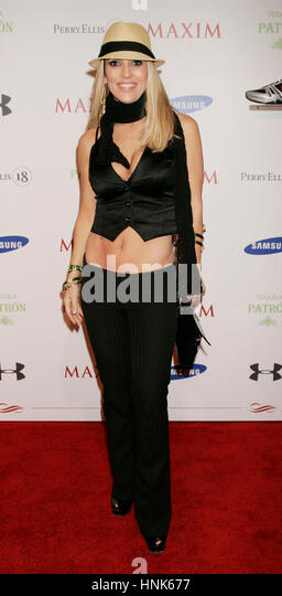 jillian barberie reynolds arrives at the maxim super bowl party at the stone rose at the - Jillian Barberie