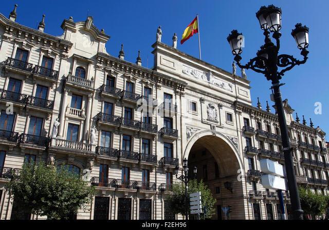 Santander spain bank stock photos santander spain bank for Banco santander sucursales barcelona