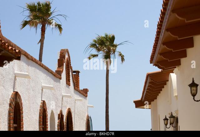 Rosarito beach mexico stock photos rosarito beach mexico for Mexican style architecture