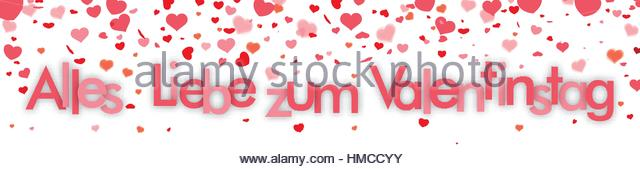 German Text U0027Alles Gute Zum Valentinstagu0027, Translate U0027Happy Valentineu0027s  Dayu0027.