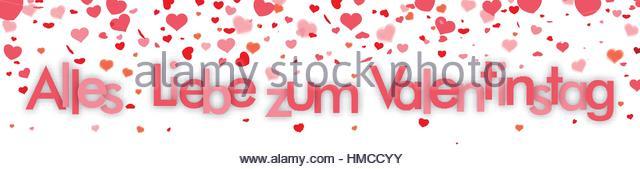 German Text U0027Alles Gute Zum Valentinstagu0027, Translate U0027Happy Valentineu0027s  Dayu0027.