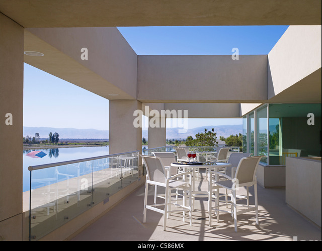 Balcony seating stock photos balcony seating stock for Balcony seating