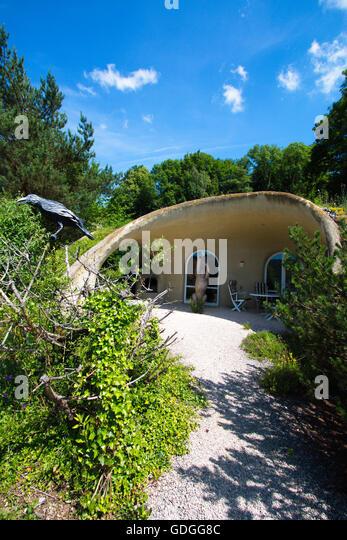 Shotcrete stock photos shotcrete stock images alamy for Earth house switzerland