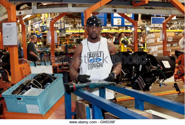 Ford motor works stock photos ford motor works stock for Southwestern motor transport jobs