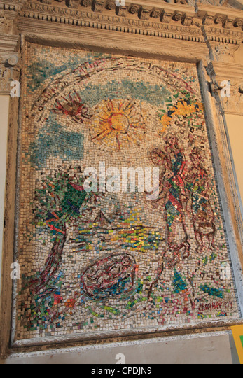 Chagall marc stock photos chagall marc stock images alamy for Chagall mural chicago