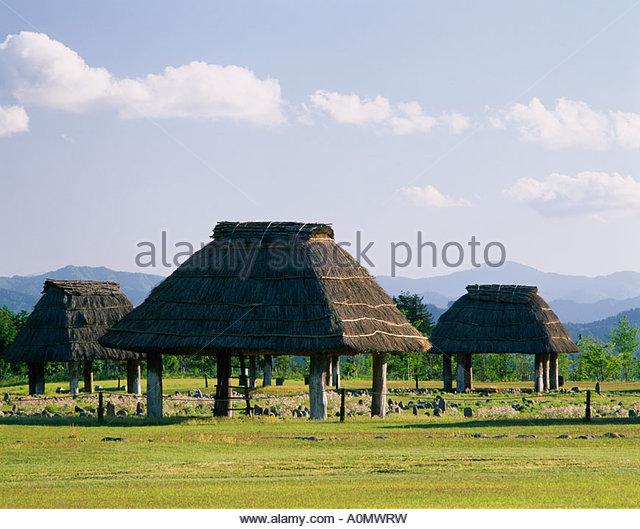 Style of houses jomon period persona 3
