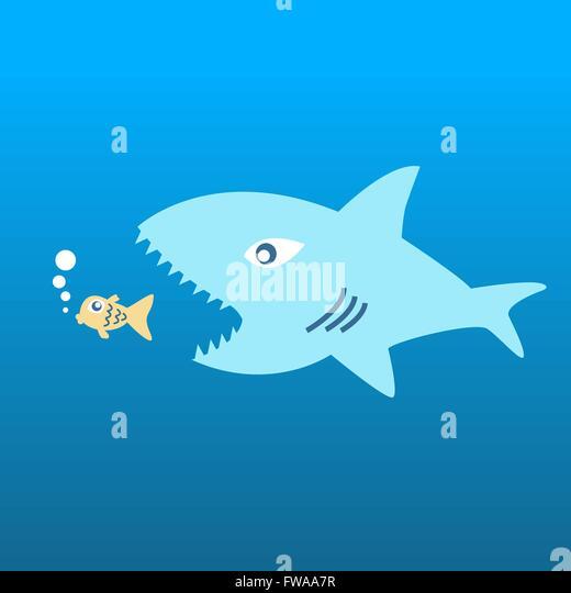 Usurer stock photos usurer stock images alamy for Big fish eat small fish