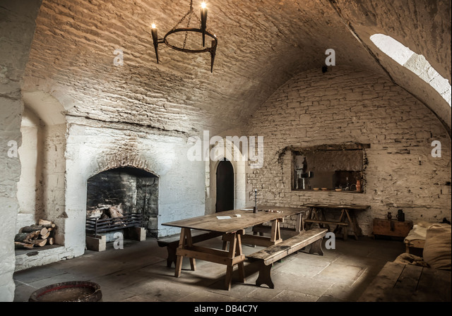 Medieval Dining Room Stock Photos amp Medieval Dining Room  : a dining room kitchen inside a medieval castle db4c7y from www.alamy.com size 640 x 449 jpeg 98kB