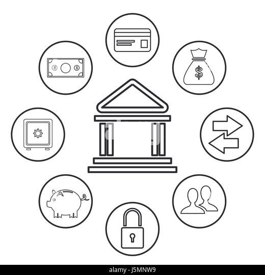 internet banking security stock vector images