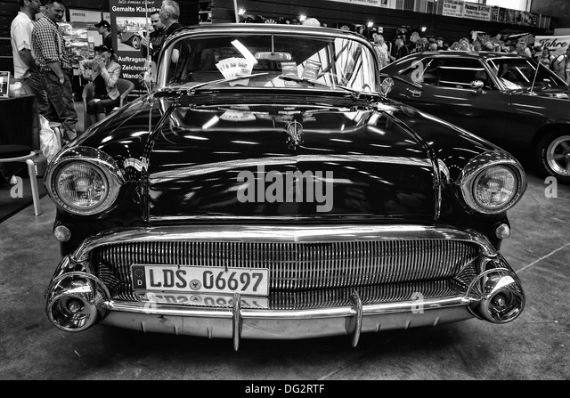 personal luxury car buick special riviera coupe black and white stock image